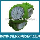 silicone twist chain link strap wrist watches