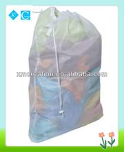 Laundry drawstring bag