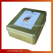 cube chocolate tin can
