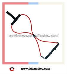 Latex tubing golf training aid