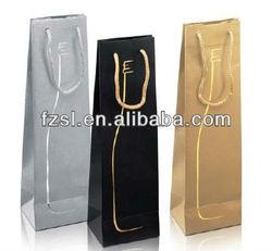 PWBSL1228 coated paper wine bag