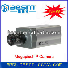Newly security Box ip Camera, High Definition H.264 1/1.3/2/3/5 Megapixel IP network Camera system BS-IP50V