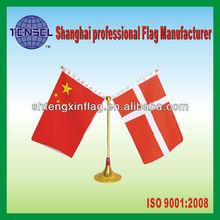 12x18cm table flag for silk screen print /national desk flag/ desktop flag