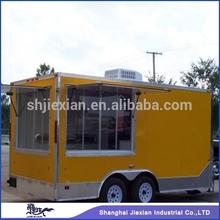 2014 Shanghai Food truck JX-FS400B,air-condition gas tank type food truck