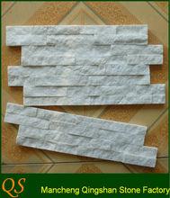 Natural white slate culture stone