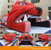 New design inflatable bulldog helmet tent