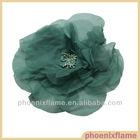 Chiffon Satin Organza Silk Fabric Flower