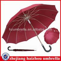 Radius 65cmX12panels fiberglass frame with aluminum shaft auto open straight Japanese umbrella