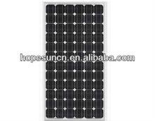 High efficiency monocrystalline pv panel 195 watt 200 watt solar panel