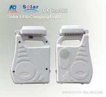High quality solar led emergency camping light lantern