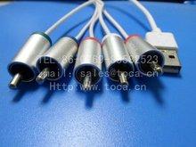 USB to RCA cable for tv usb a la salida rca