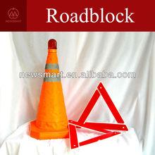 Roadblock | traffic cone | Orange Roadblock | Road warning device