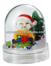 small snow globe paper weight,snow ball souvenir