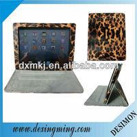 Leopard Folio Leather Case Cover for Apple iPad 4th Generation with Retina Display,iPad 3 & iPad 2 (Auto Sleep/Wake Feature)