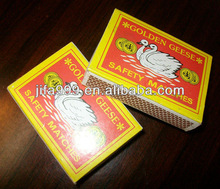 The Goose Brand safety matches
