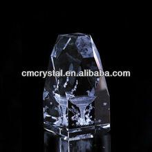 2015 promotional 3d crystal laser engraving gifts