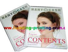 Print Hair Styles Sample/Hair Products Catalog