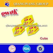 4G/CUBE*50*48 QWOK CHICKEN/BEEF/SHRIMP HALAL SEASONING CUBE BOUILLON CUBE SOUP CUBE
