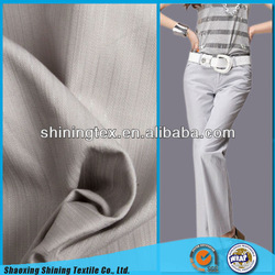 ladies' fashion cotton pants twill fabric
