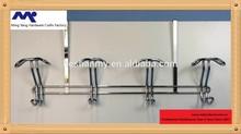 MYH-011 over cabinet bathroom 4 hooks towel hanger rack