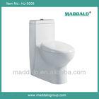 Dual Flush Ceramic Siphonic One Piecce Closestool Pop Toilet Bowl