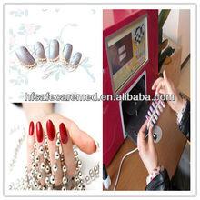Mini art nail machine PC nail printing machine Touch Screen Nail Printer