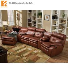 2013 Newland leather function home cinema sofa( NL-Z60)