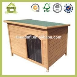 SDD06 handmade wooden dog kennel