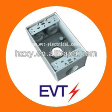 Square electrical Weatherproof conduit box