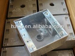 Square electrical Weatherproof conduit box