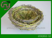 2014 spring new design bird nest of wild grass
