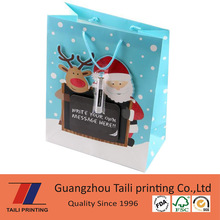 New design Christmas gift bag / gift packing bag / promotion bag *B20130208-2