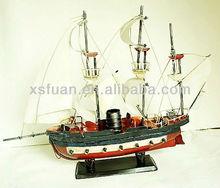 metal ship model