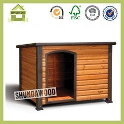 SDD06 Promotional Waterproof Large Wooden Dog Kennel