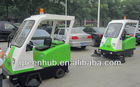 driveway vacuum sweeper warehouse sweeping machine electric compact street sweeper