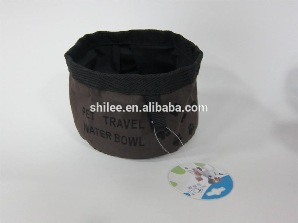 New Design Foldable Travel Pet Bowl Nylon Pet Bowl