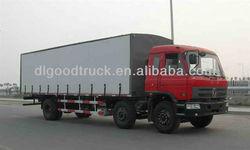 China 6x2 van cargo truck
