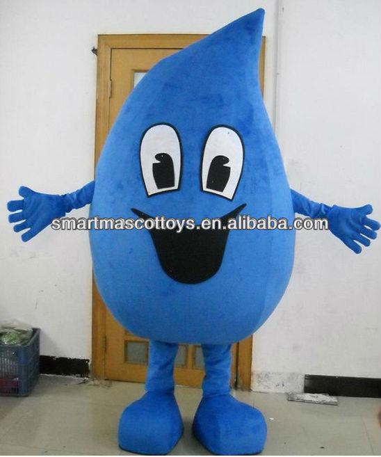 Water Drop Mascot Costume