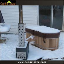 Cedar Lover two person hot tub spa