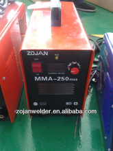 zx7-250 mma dc inverter welder machinery equipment