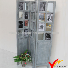 country shabby chic wood screen doors with picture frames
