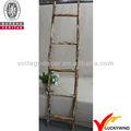 decorativos de madera con escalera de flor de jardín de uso