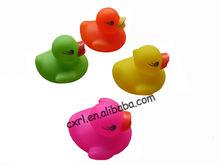 Mini plastic bath duck