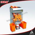 20 naranja / min restaurante naranja Extractor de jugo / zumo comercial que hace la máquina / zumo de fruta de prensa