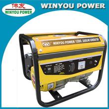 1kw/1kva petrol gasoline gas generators with honda gasoline engine
