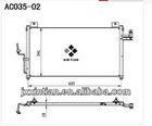 C100-61-480/A/B auto condenser MAZDA PREMACY 4924