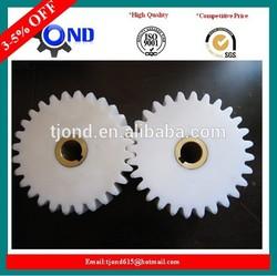 High quality plastic pinion gear,spur plastic gear