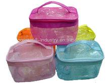 pvc mini Convenience clear cosmetic bag