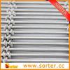 Stainless steel metal building material