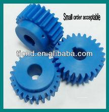 High precision nylon, plastic oem gears
